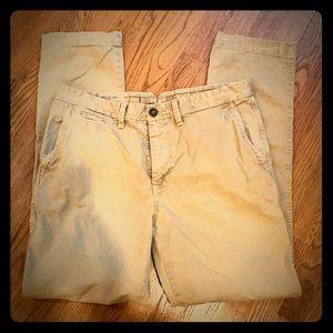 American Eagle 34x34 men's cotton khakis GUC